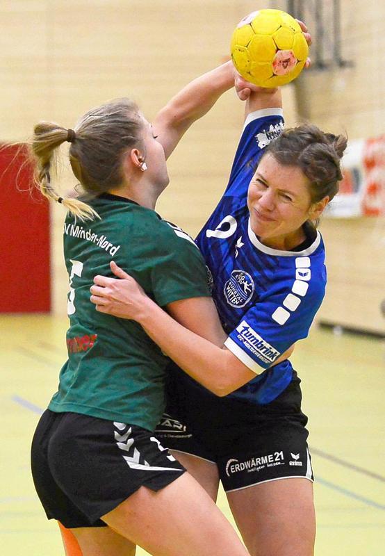 Ohne Chance in den Pokalspielen: Verena Löffler (re., SG).                                              <b>Zabka</b>