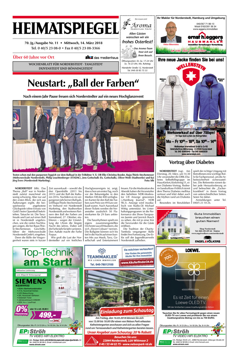 Norderstedter wochenblatt online dating