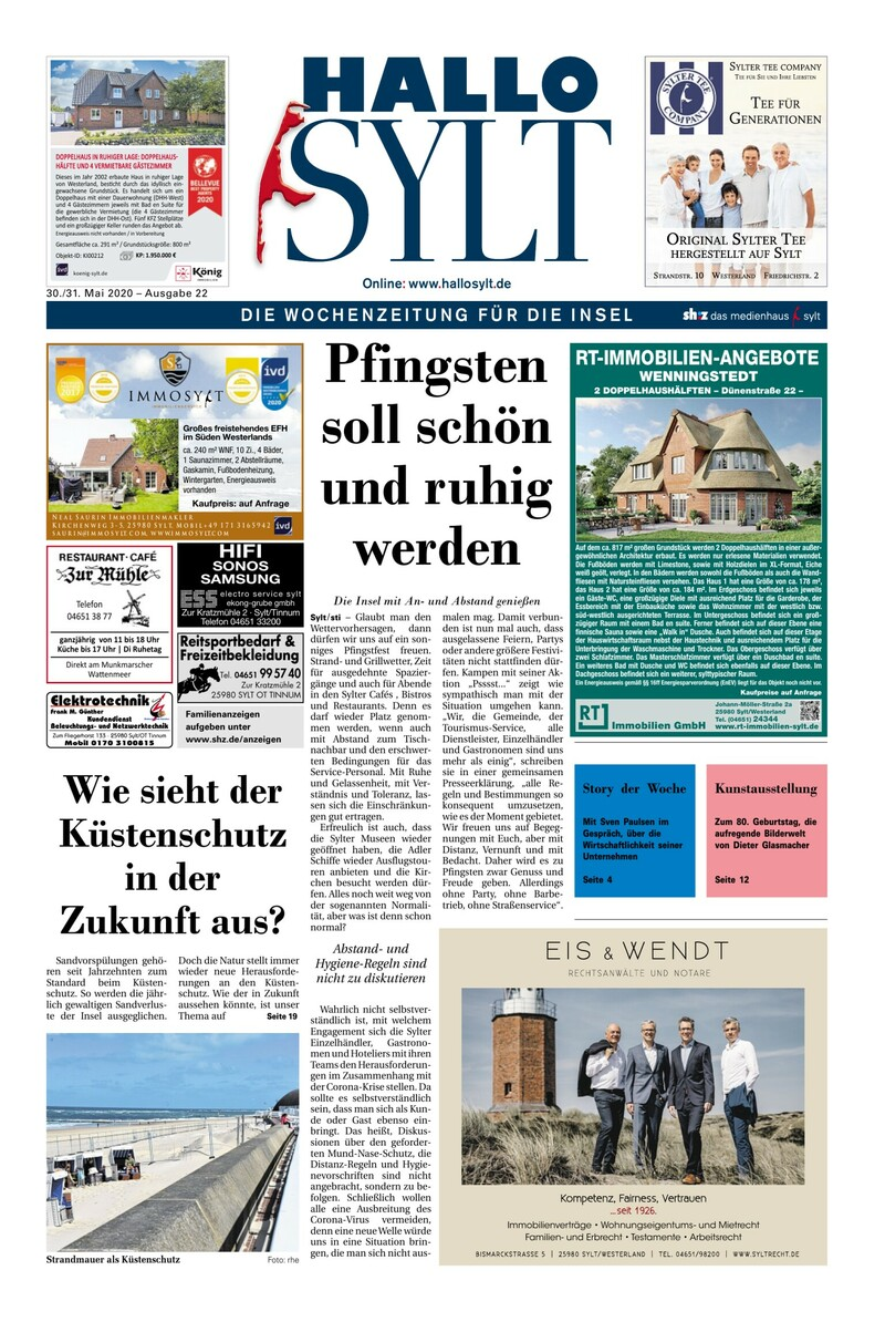 HALLO Sylt e-paper » Lokale Wochenzeitungen