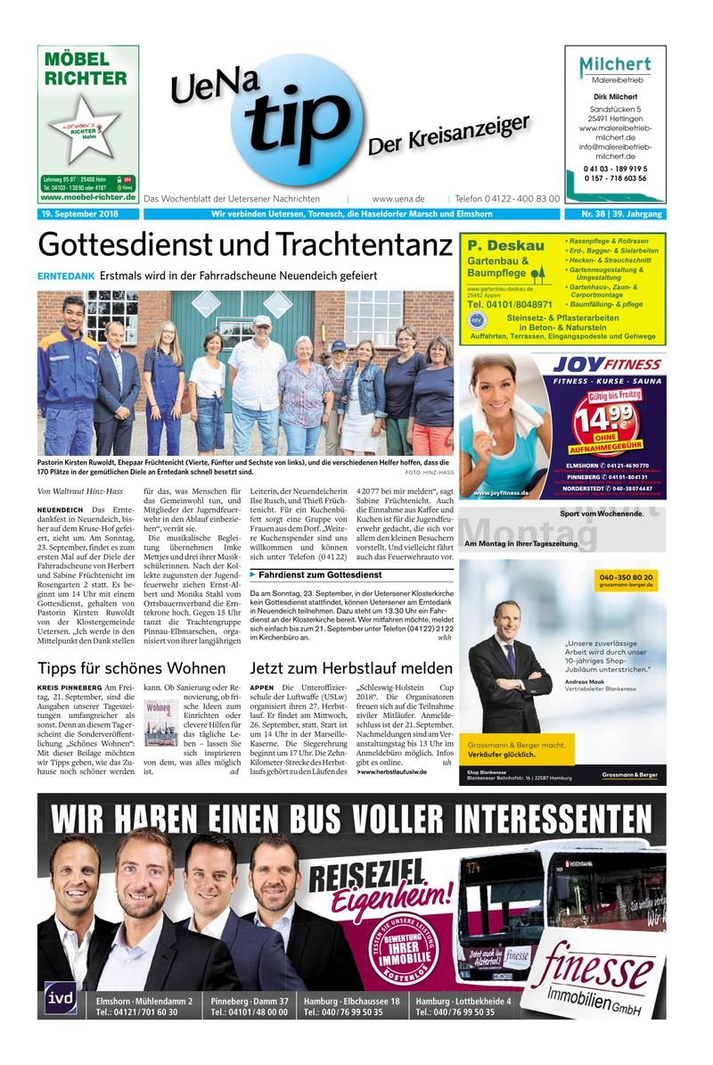 Uena Tip Der Kreisanzeiger 19 09 2018