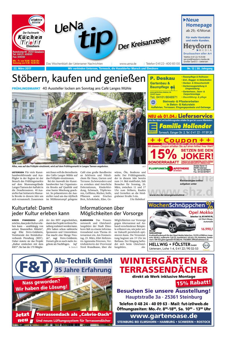 Uena Tip Der Kreisanzeiger 22 03 2017
