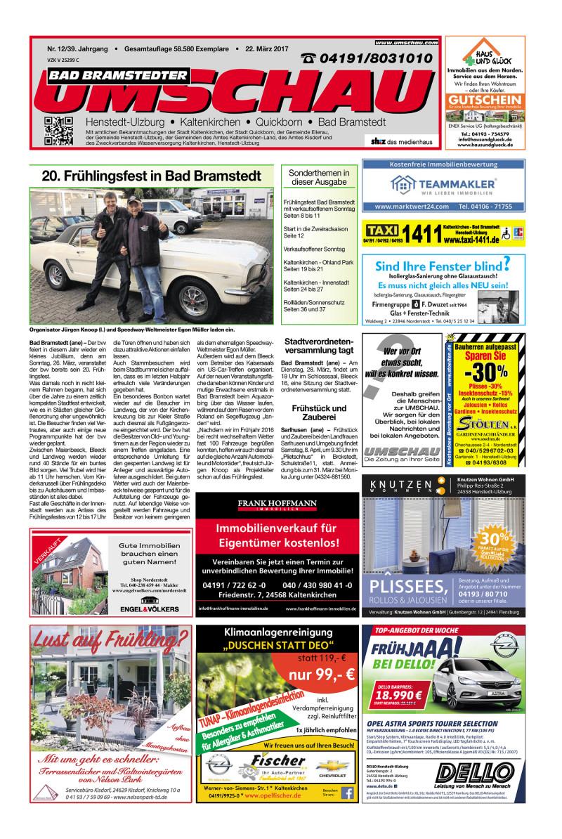Umschau Bad Bramstedt 22 03 2017