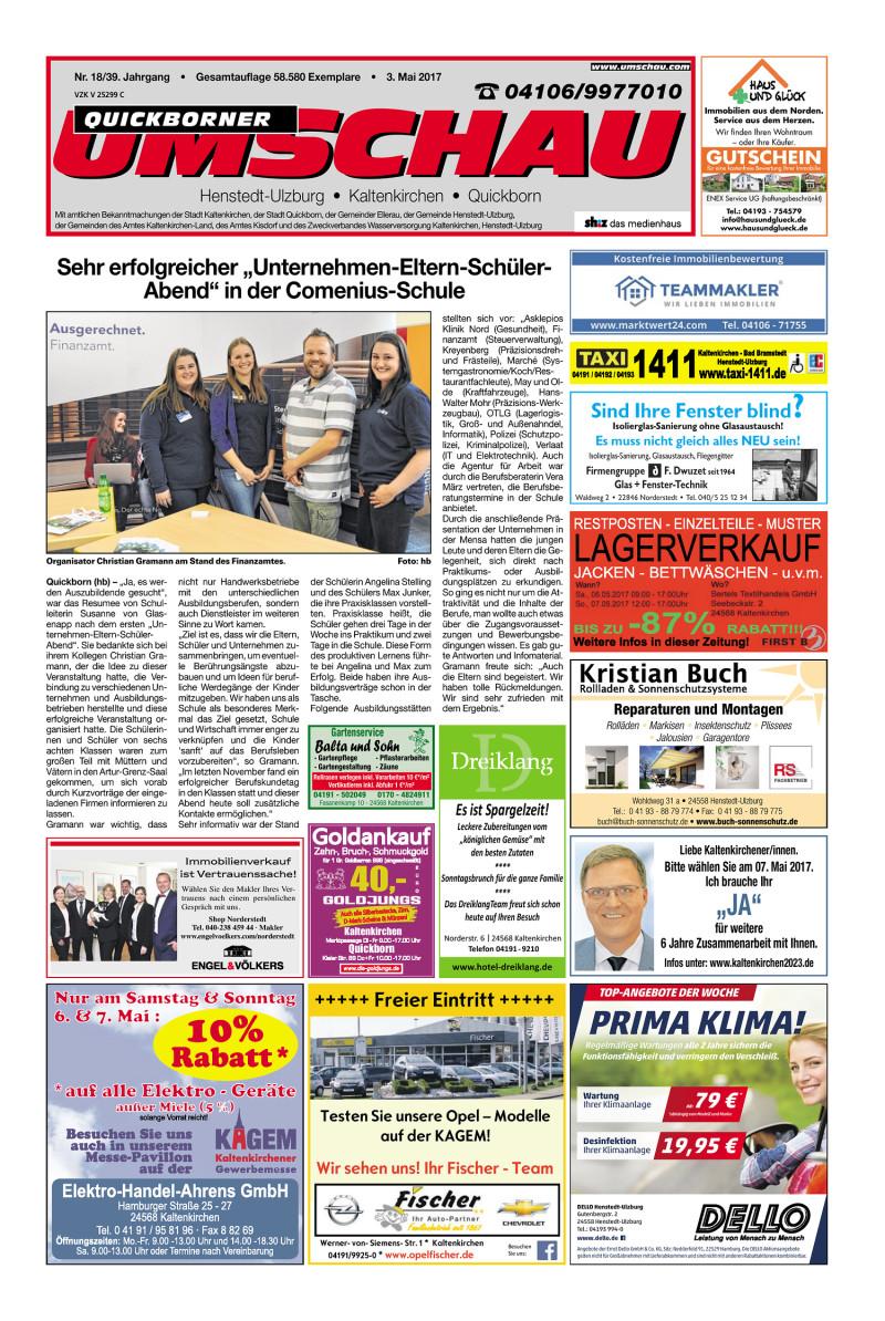 Umschau Quickborn 03 05 2017