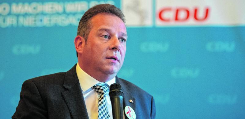 CDU-Bundestagsabgeordneter Andreas Mattfeldt genießt weiterhin das volle Vertrauen des CDU-Kreisvorstands und hat bisher keinen Gegenkandidaten.