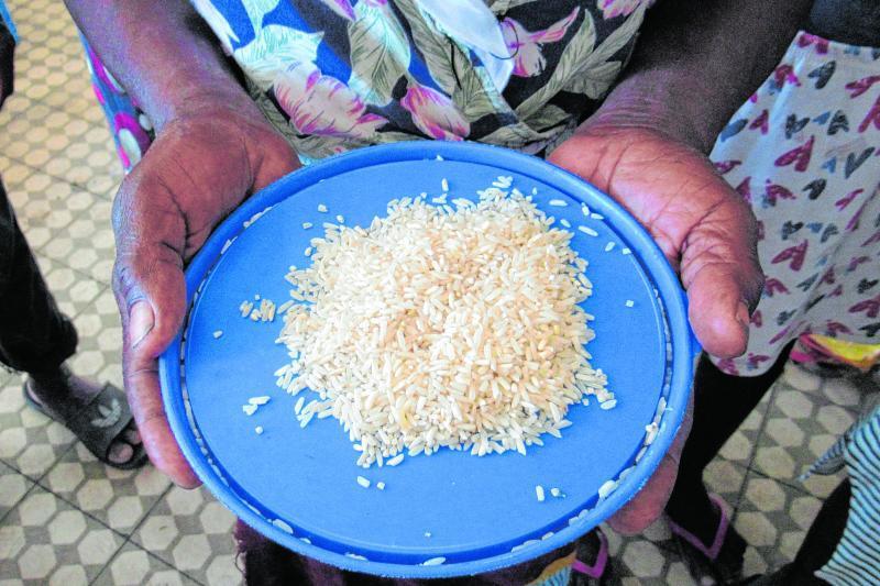 Hunderte Millionen Menschen in der Welt haben nicht genug zu essen. Das Welternährungsprogramm ist eine Organisation, die hilft.