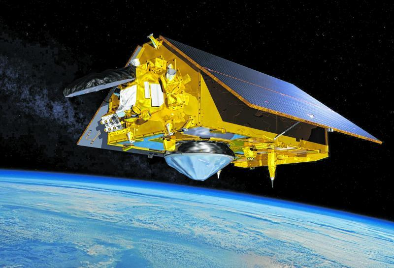 Der Satellit Sentinel-6.