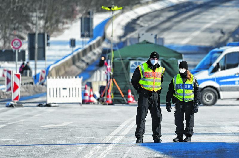 Seit Sonntag gibt es an den Grenzen zu Tschechien Kontrollen.