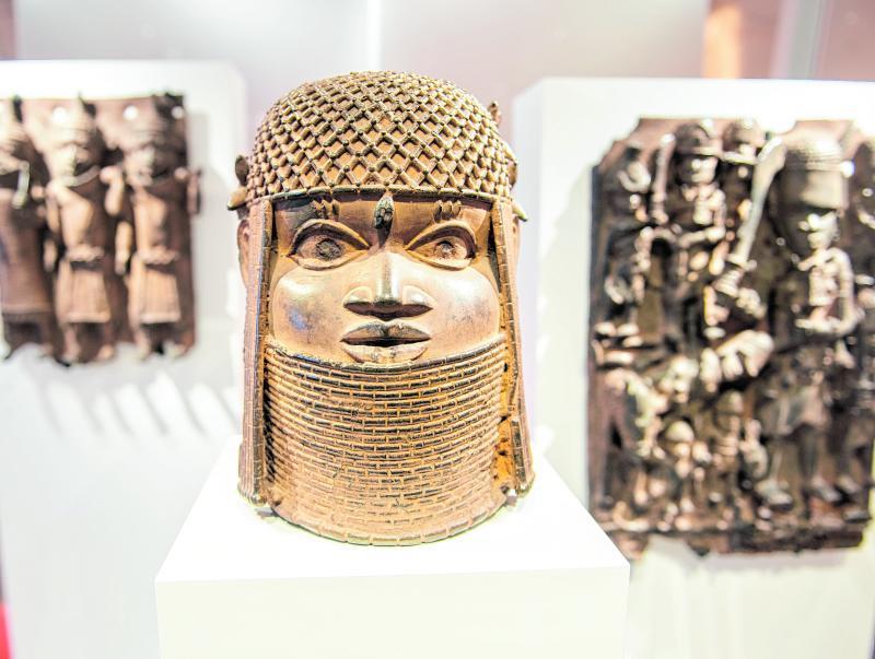 Benin-Bronzen gibt es in vielen deutschen Museen.