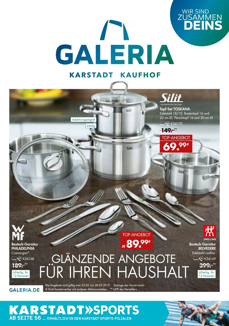 Prospekt Kaufhof 9 6 2019 30 Galeria 10 Karstadt Aktuelles