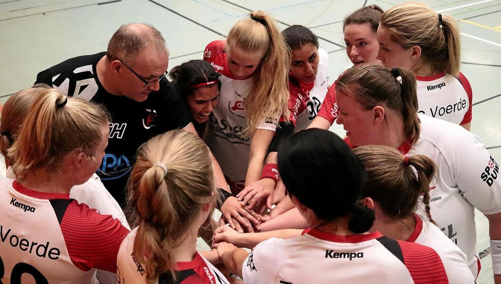 Nur als Team können die Handballerinnen der TG Voerde in der kommenden Saison den Klassenerhalt in der Bezirksliga erreichen.                                              <b>Isabelle Rust</b>